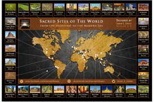 Sacred Sites of the World Map