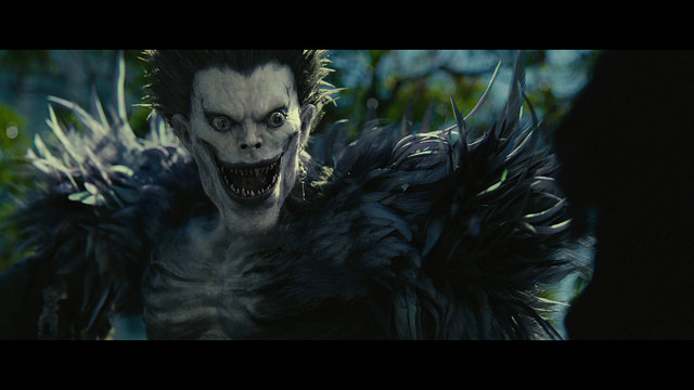 Picture of Ryuku from Death Note