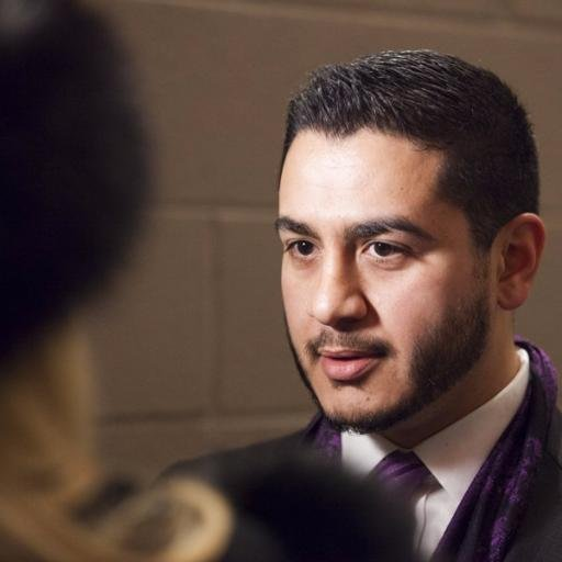 Abdul El-Sayed Speaking to Reporters