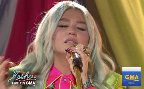 "Kesha Performs ""Praying"" on 'Good Morning America'"