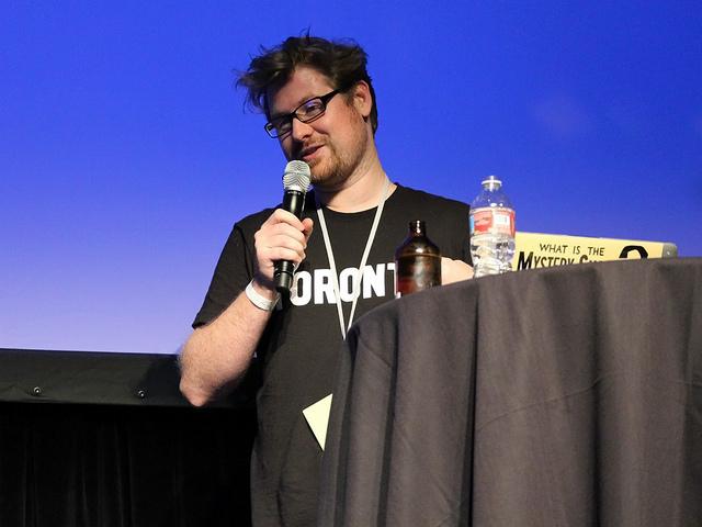 Justin Roiland Speaking at Convention