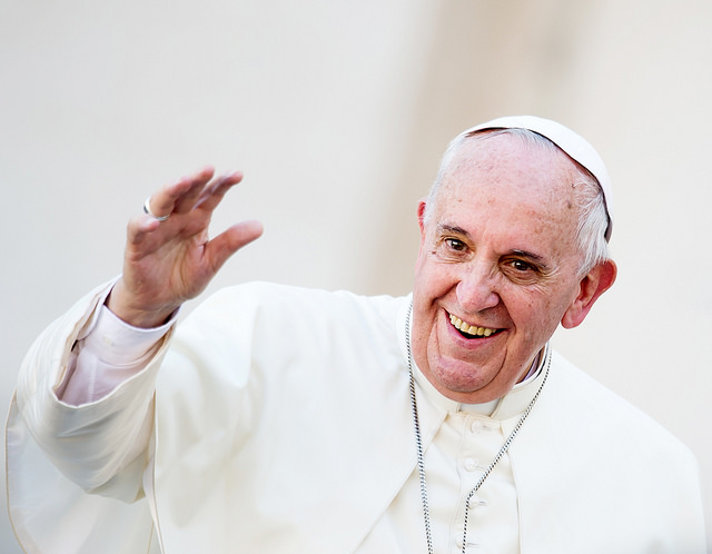 Pope Francis Preaches Peace While Injured
