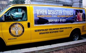 Scientology Volunteers Help With Hurricane Harvey