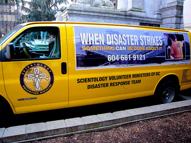 Scientology Volunteer Ministry Van