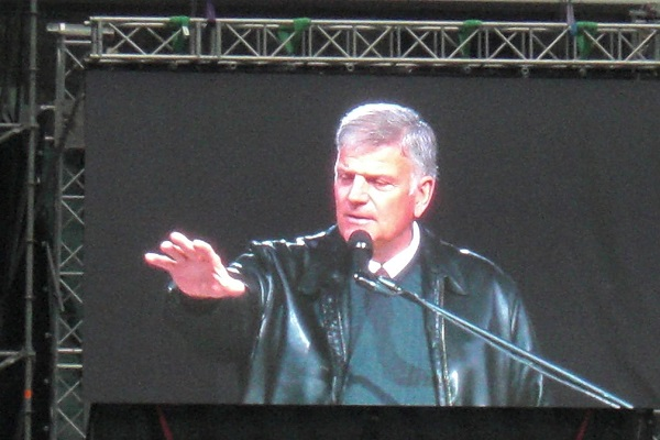 NFL Controversy Franklin Graham