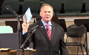 Roy Moore Says Shootings Happen Because We Don't Acknowledge God Enough