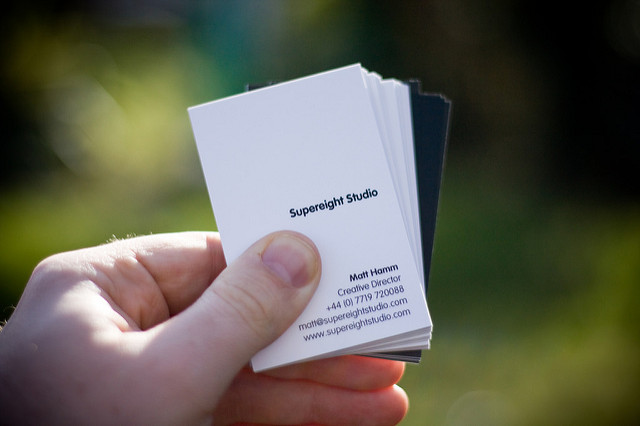 Business Cards denied Based on religious freedom