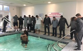 Philadelphia Eagles' Marcus Johnson Baptized in Hotel Swimming Pool Before Game