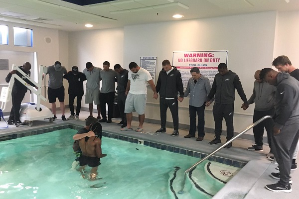 First time being Baptized! Corporate Worship is a beautiful thing!! Cleansed & Reborn in JESUS name!!??? #WholeHeartedly  Via Twitter