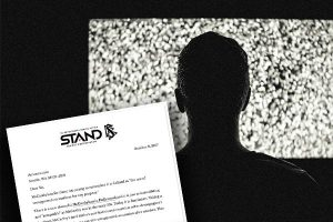 STAND Letters to Advertisers