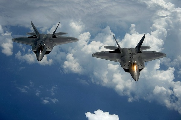 Aircraft Us Air Force F-22 Raptor Military Jets
