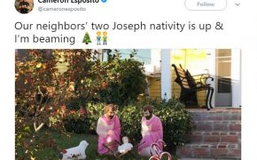 Twitter Goes Crazy Over Gay Nativity Scene