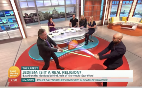 Piers Morgan Has Theological Debate About Jedis that Ends in Lightsaber Duel