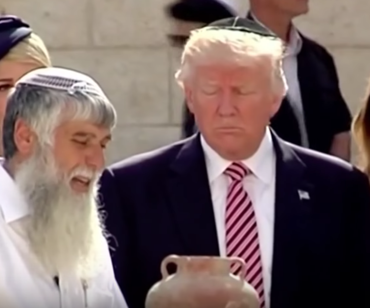Israel Minister Proposes a Trump Train Station at Western Wall