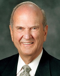 Russell M. Nelson hljavery@verizon.net is licensed under CC BY 2.0