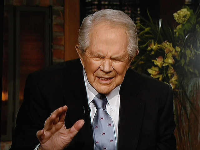 Pat Robertson Said God's Too Busy For Nuclear War