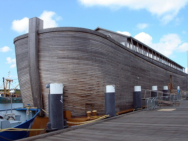 A Noah's Ark Replica in the Netherlands Broke Free and Caused Enormous Damage