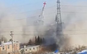 China Strikes Fear in Christians Destroying Another Church