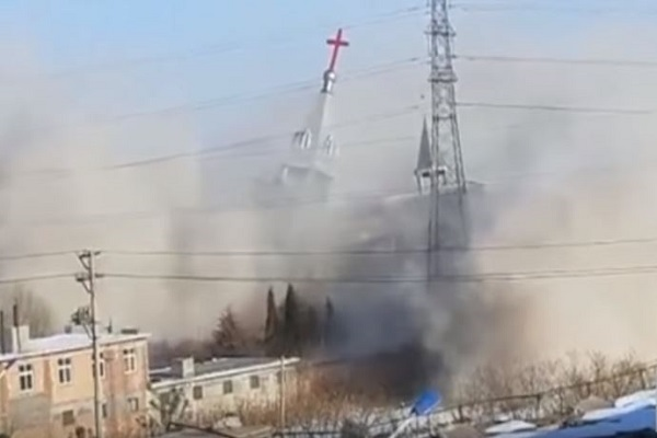 China destroys second Christian Church in less than a month