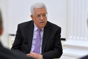 Mahmoud Abbas says Trump Must Choose: