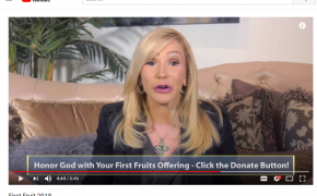 Trump Spiritual Adviser Says Give Her Your Salary or Face Consequences