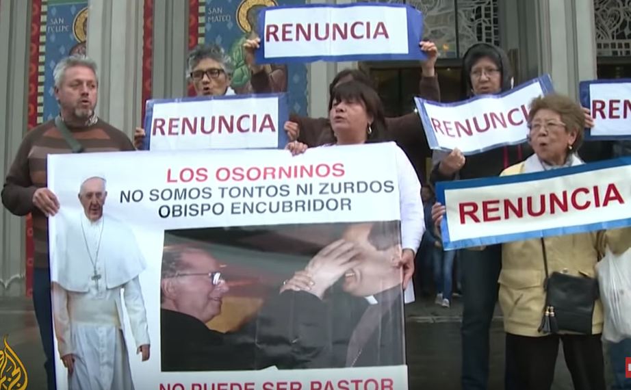 Pope Francis Trip To Chile Tainted by Scandal and Violence