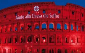 Colosseum Lit Up Red to Honor Religious Persecuted Christians