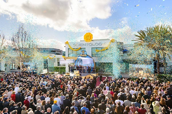 Silicon Valley Scientology Church Grand Opening