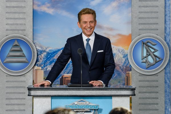 Scientology Leader David Miscavige at the Salt Lake City Church opening.