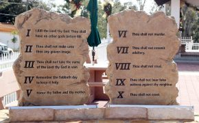 We Don't Take The Ten Commandments Seriously