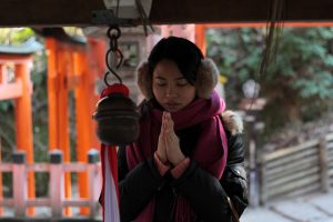 "Praying to Shinto ""Sports Gods"" For Success"