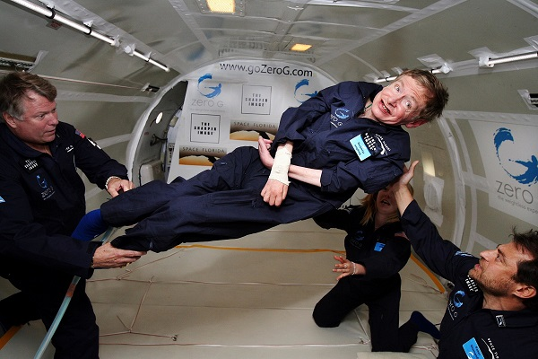 Stephen Hawking's final act of kindness: Ameal for the needy