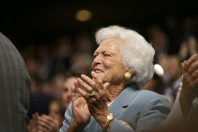 Barbara Bush: A first lady who earned esteem