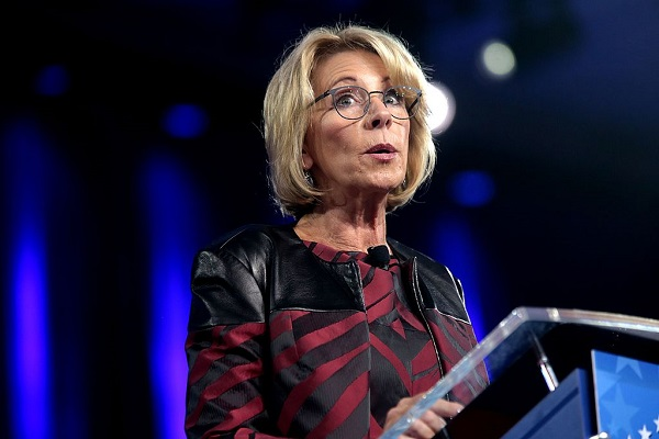 The Expectations Project Slammed DeVos for Her Comments on Race and Discipline