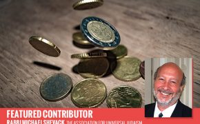 End the Cult of Coins by Rabbi Michael Shevack