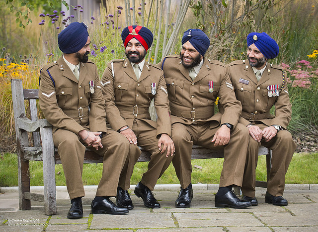 First Turban Wearing Sikh In British Army Is Part of Proud Tradition