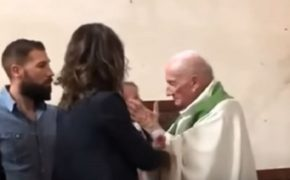 Angry Priest Fired For Smacking Baby During Baptism