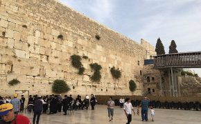 Stone Falls from 2,000-Year-Old Section of Western Wall