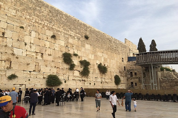 Ancient Stone Fell From Western Wall