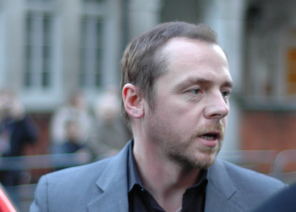Actor Simon Pegg Calls Out Religion