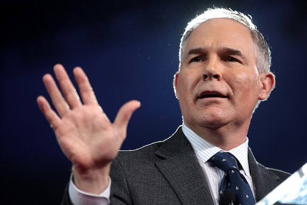 Scott Pruitt's Argument Against God's Existence