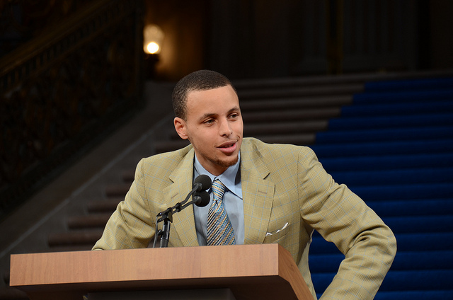 Swish!: NBA All-Star Steph Curry To Make Christian Movies