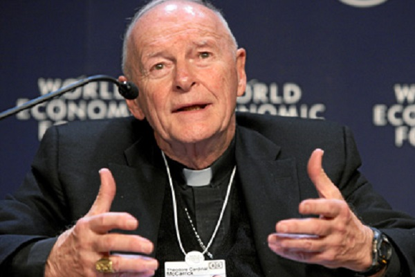 Pope Francis Accepts the Resignation of McCarrick
