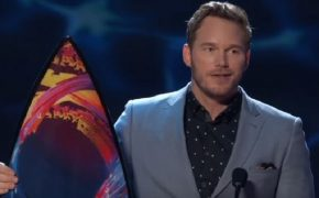 """I Love God."" Chris Pratt's Acceptance Speech at Teen Choice Awards"