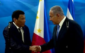 "Netanyahu Welcomes ""Friend"" Duterte to Jerusalem"