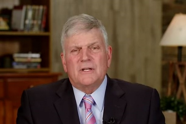 Franklin Graham Claims the Sexual Abuse Allegations against Brett Kavanagh are 'Not Relevant'