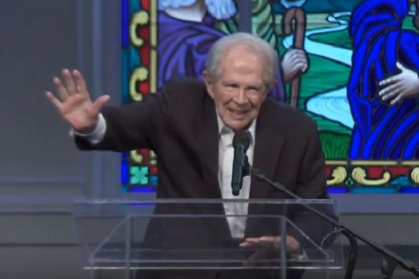 Televangelist Pat Robertson Casts 'Shield of Protection' Against Hurricane Florence