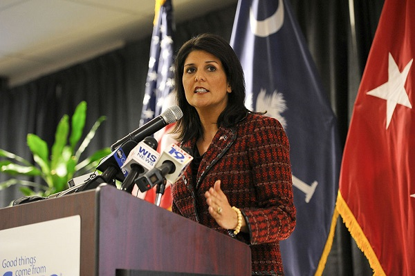 Nikki Haley Slams China's 'Free Vocational Training' Internment Camps