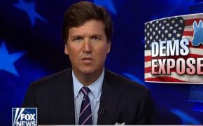 Tucker Carlson Claims the Kavanaugh Reaction Is Due to Democrats Creating a 'Theocracy Run by Atheists'