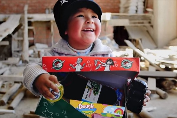 Christmas Shoebox Gifts from Samaritan's Purse -Operation Christmas Child